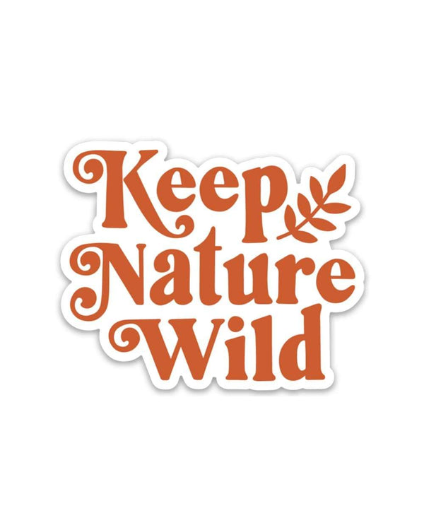 KNW Wild Holly | Sticker - Keep Nature Wild
