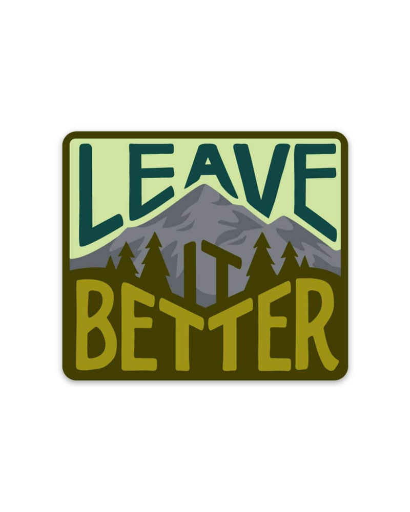 Leave It Better Forest | Sticker - Keep Nature Wild