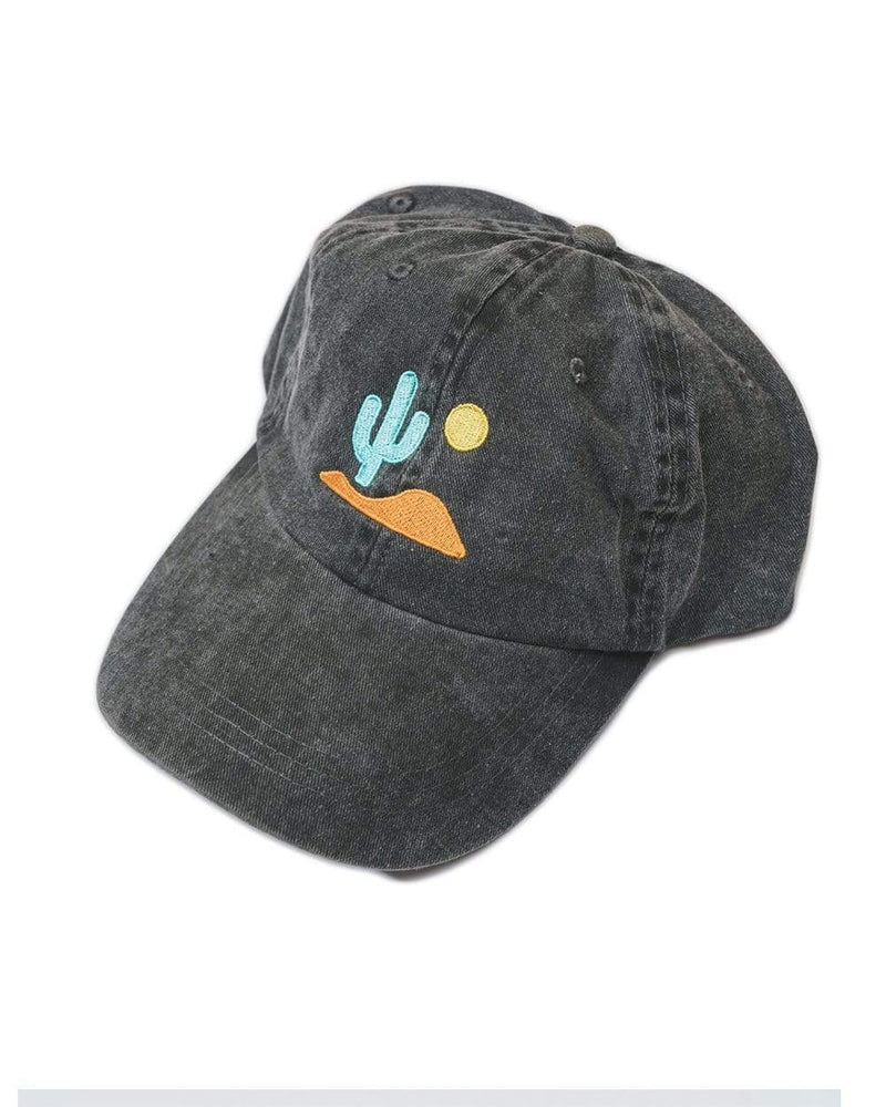 Keep Nature Wild Hat Lone Cactus Dad Hat | Faded Black