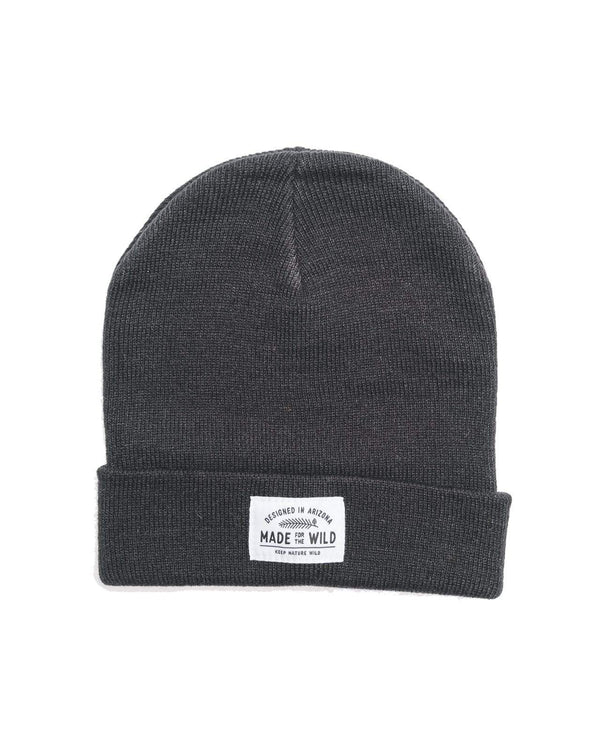 Made for the Wild Beanie | Black - Keep Nature Wild