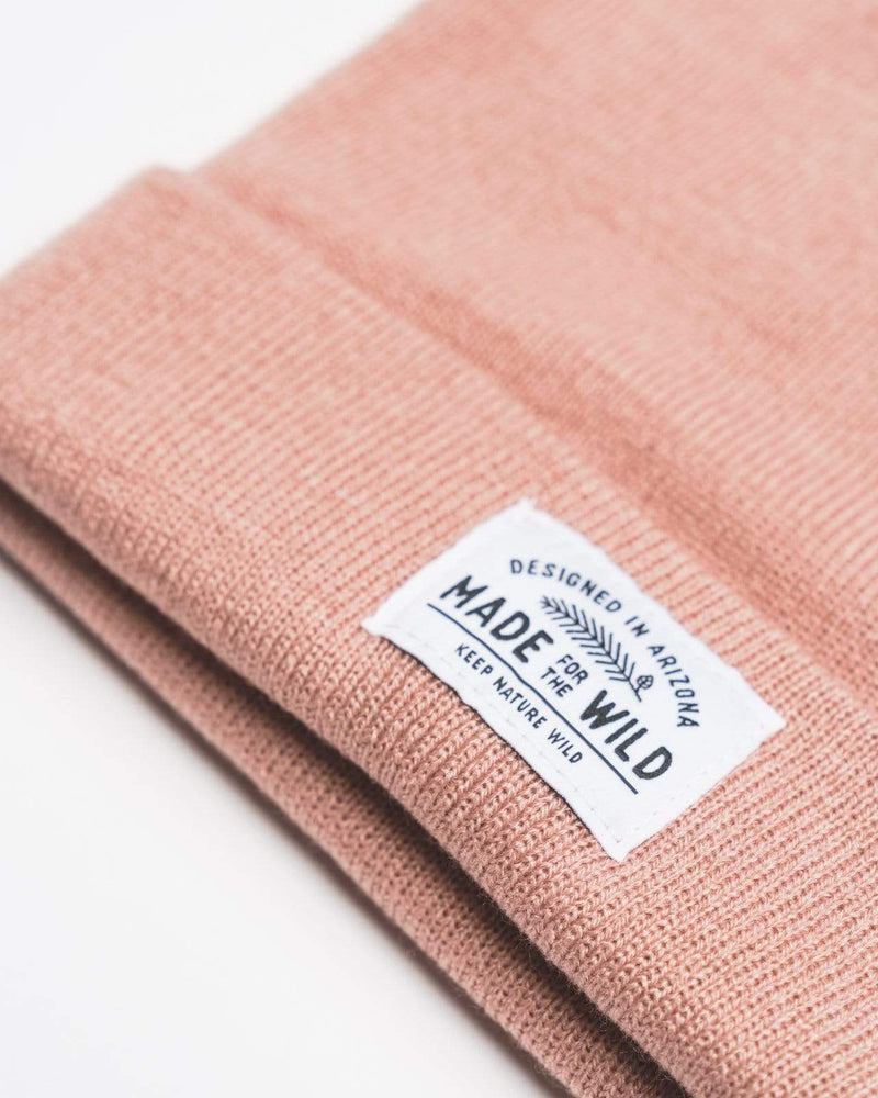 Made for the Wild Beanie | Rosé - Keep Nature Wild
