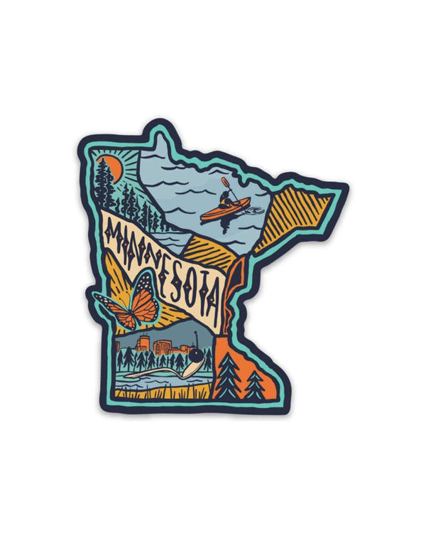 Minnesota Love | Sticker - Keep Nature Wild