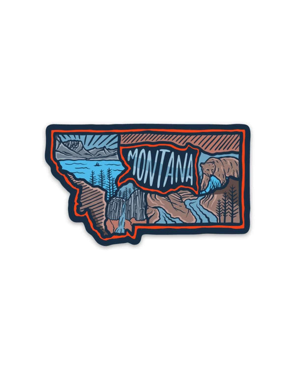 Montana Love | Sticker - Keep Nature Wild