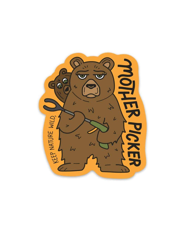 Mother Picker | Sticker - Keep Nature Wild