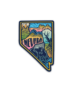 Nevada Love | Sticker - Keep Nature Wild