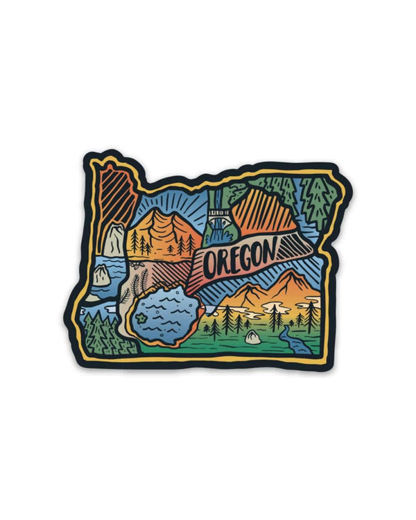 Oregon Love | Sticker - Keep Nature Wild