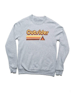 Outsider Mid-Weight Pullover | Athletic Gray - Keep Nature Wild