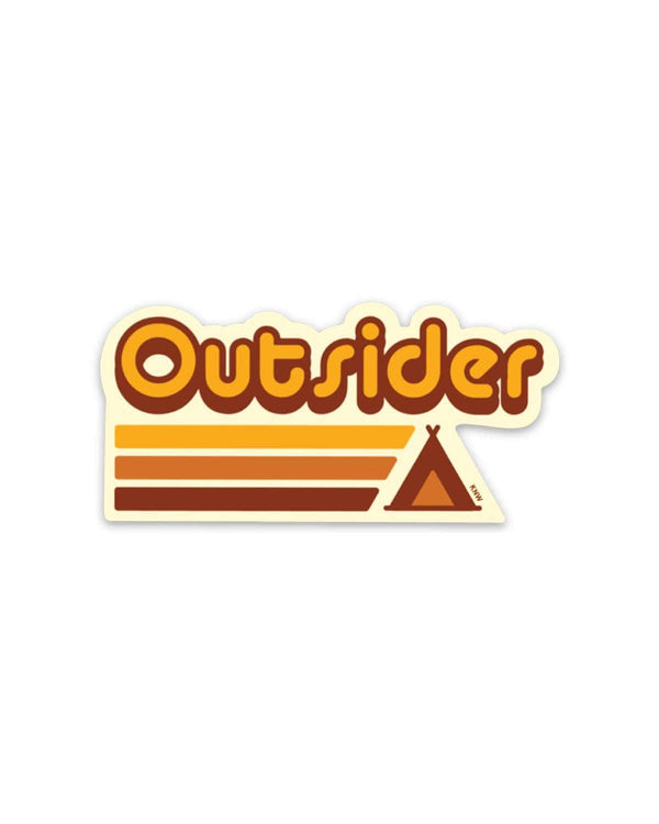 Outsider | Sticker - Keep Nature Wild