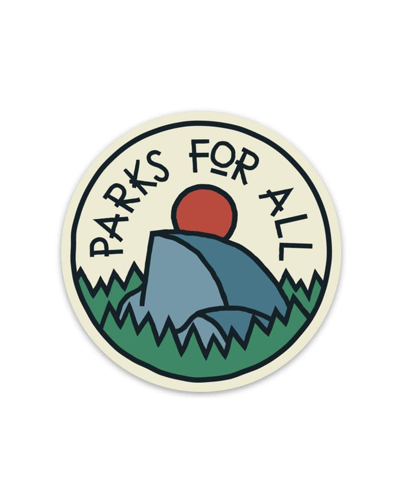 Parks For All | Sticker - Keep Nature Wild