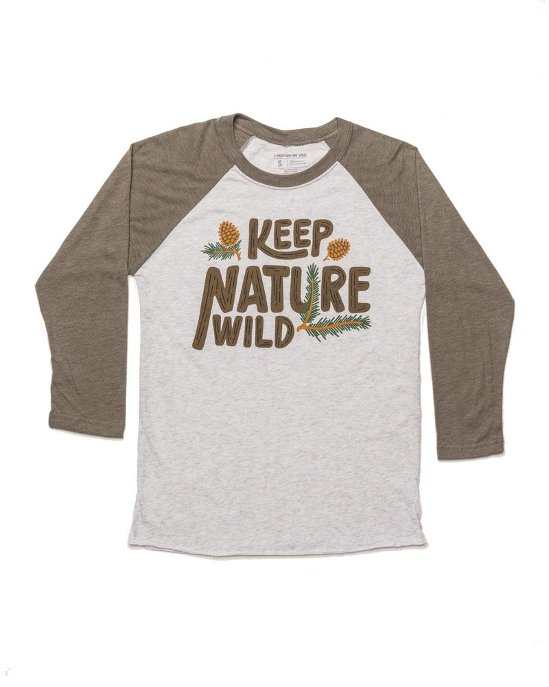 Pinecone Unisex 3/4 Sleeve | Dusk - Keep Nature Wild
