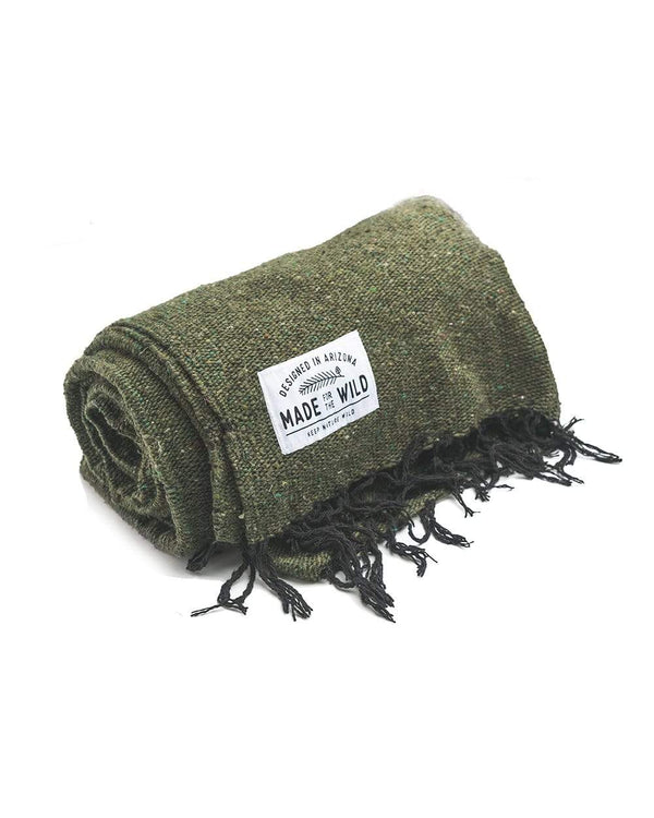 Keep Nature Wild Blanket Ponderosa Solid | Blanket