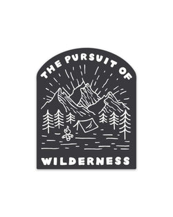 Pursuit of Wilderness | Sticker - Keep Nature Wild