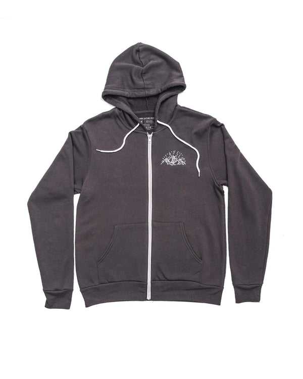 Keep Nature Wild Outerwear Pursuit of Wilderness Zip Hoodie | Dark Gray