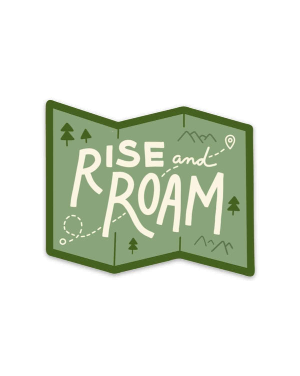 Rise and Roam | Sticker - Keep Nature Wild