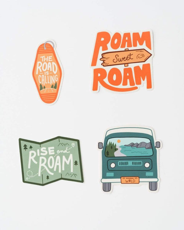Roamin' Sticker Pack - Keep Nature Wild