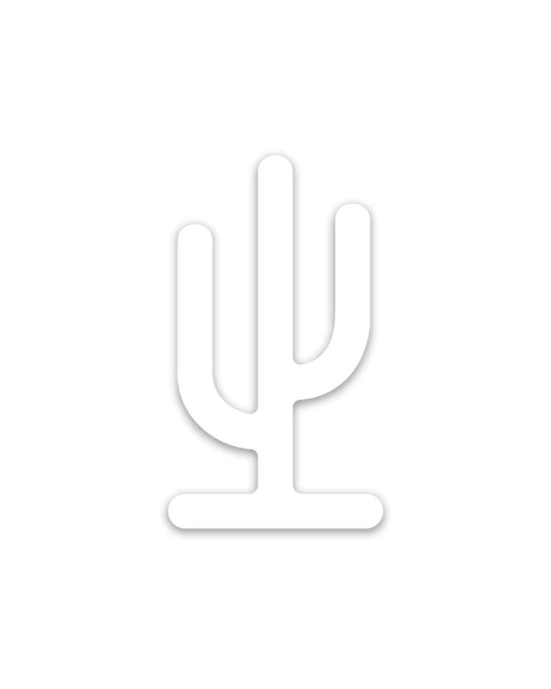 Saguaro Arizona | White Decal - Keep Nature Wild