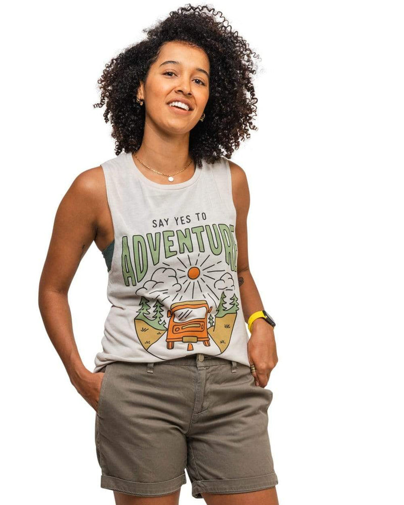 Keep Nature Wild Tank Say Yes to Adventure Muscle Tank | Dust