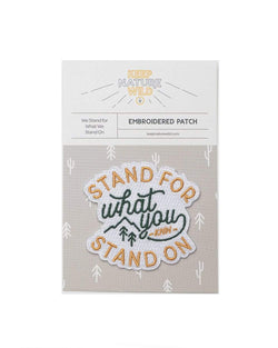 Stand For | Patch - Keep Nature Wild