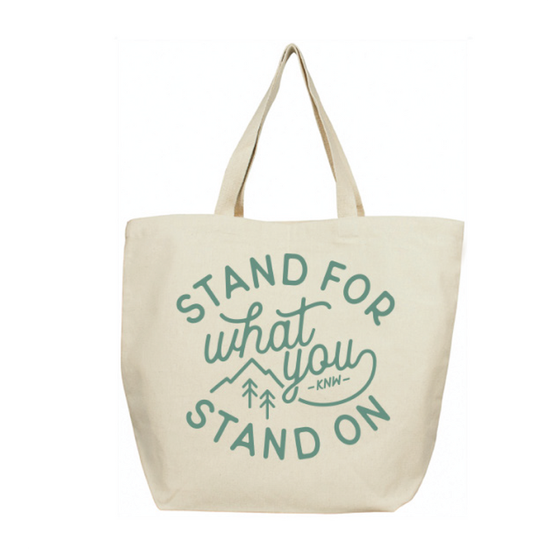 Stand For | Tote Bag - Keep Nature Wild