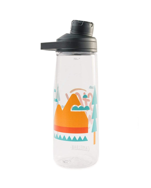Stay Wild | Clear 25oz Water Bottle - Keep Nature Wild