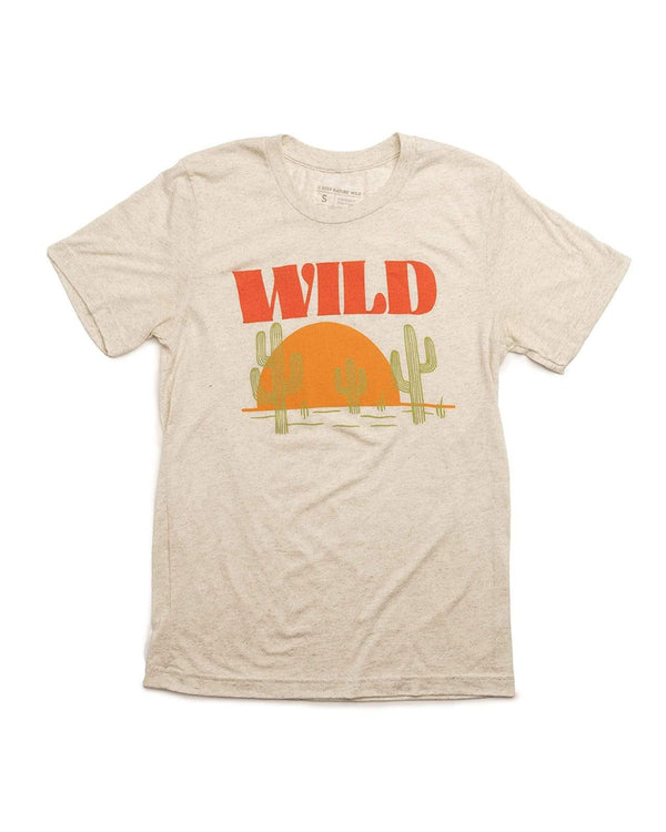 Sunset Chaser Unisex Tee | Sandstone - Keep Nature Wild