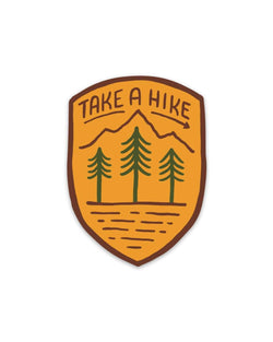 Take A Hike | Sticker - Keep Nature Wild