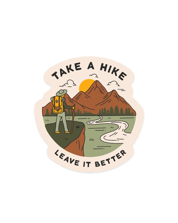 Keep Nature Wild Sticker Take a Hike | Sticker