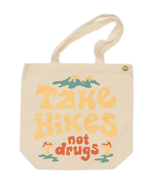 Keep Nature Wild Reusables Take Hikes | ECO Tote Bag