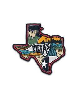 Texas Love | Sticker - Keep Nature Wild