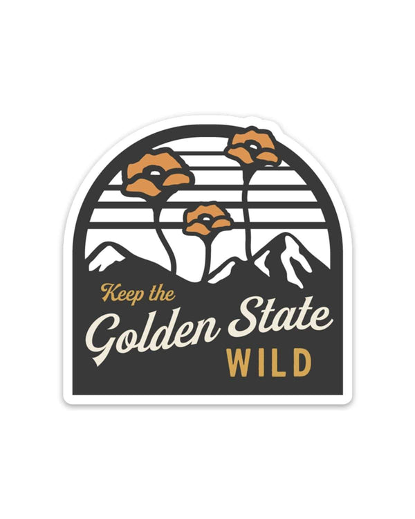 The Golden State | Sticker - Keep Nature Wild