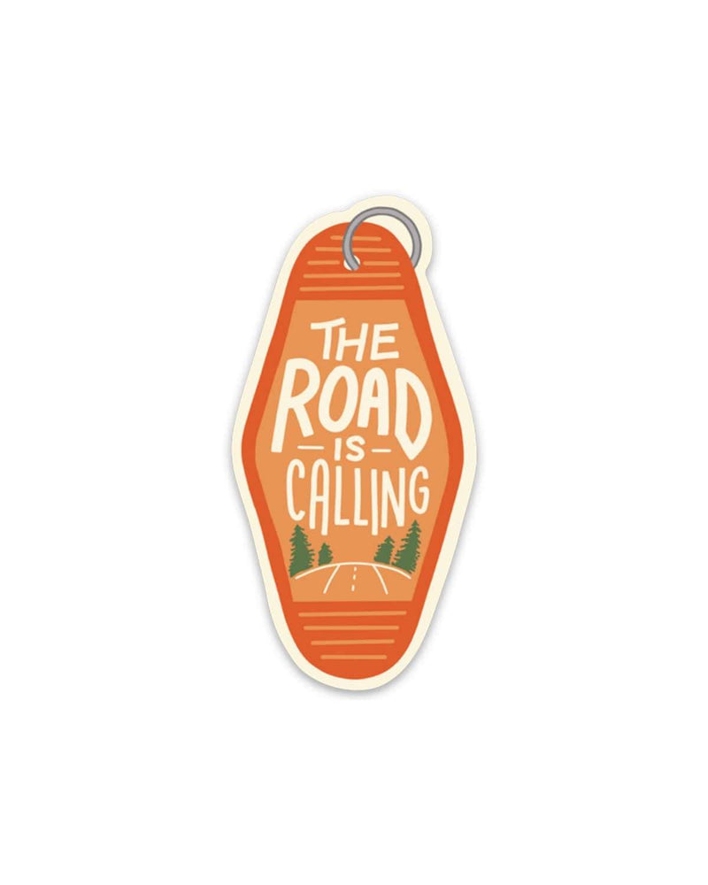 The Road Is Calling | Sticker - Keep Nature Wild