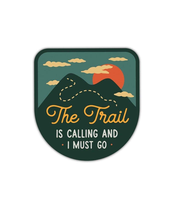 Keep Nature Wild Sticker The Trail is Calling | Sticker