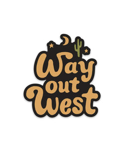 Western | Sticker - Keep Nature Wild