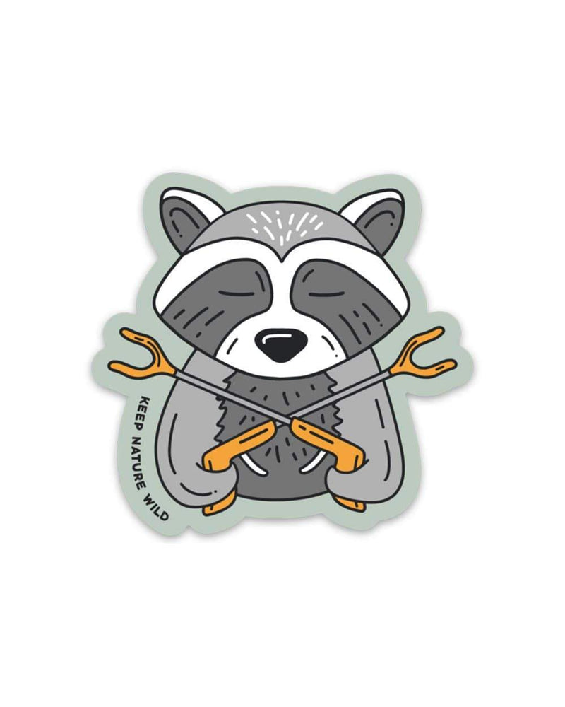 Keep Nature Wild Sticker Trash Panda | Sticker