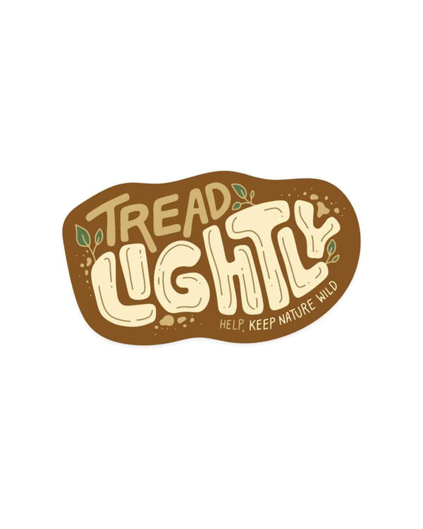 Tread Lightly | Sticker - Keep Nature Wild