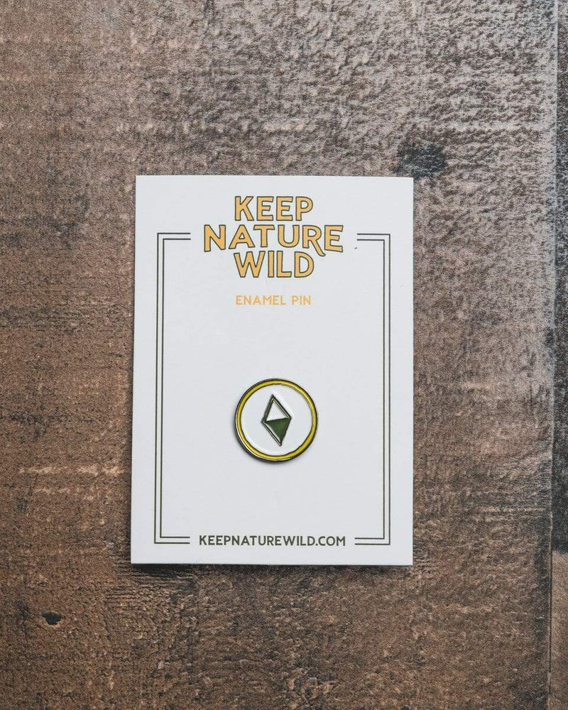 True North Compass | Enamel Pin - Keep Nature Wild