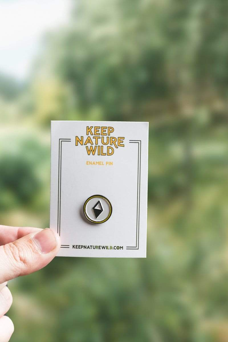 Keep Nature Wild Pin True North Compass | Enamel Pin