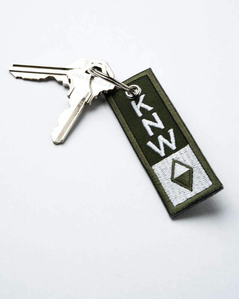 True North Keychain | Olive - Keep Nature Wild