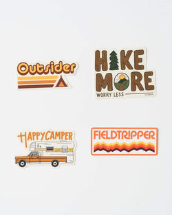 Vintage Camper | Sticker Pack - Keep Nature Wild