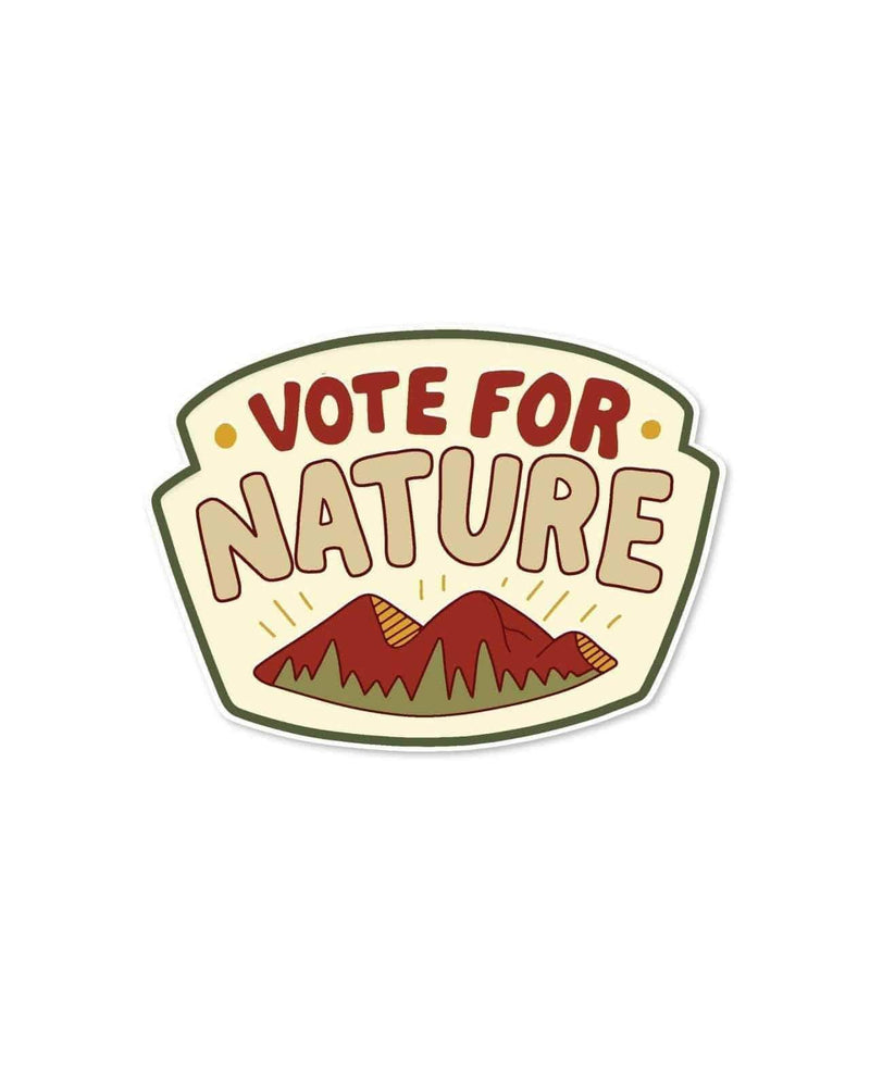 Keep Nature Wild Sticker Vote for Nature | Sticker