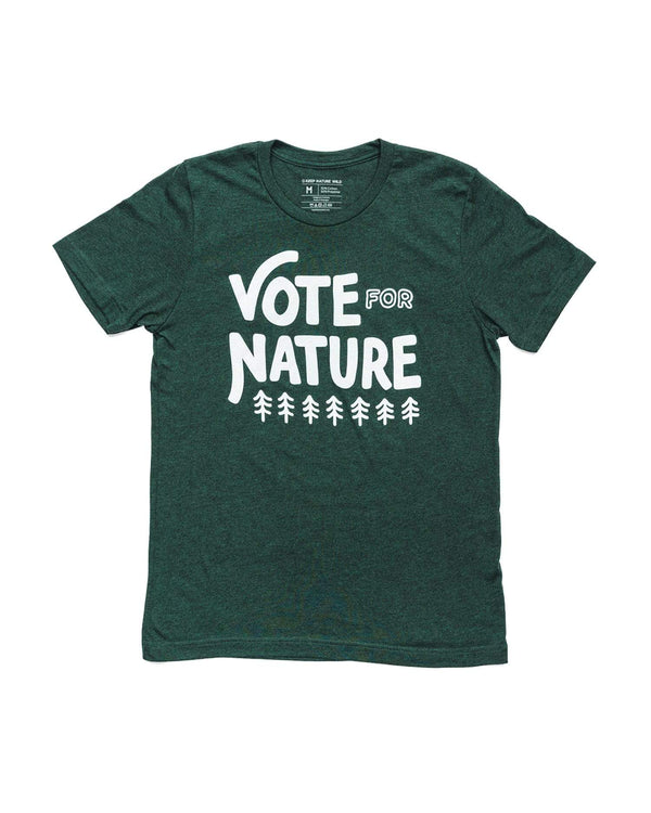Keep Nature Wild Tee Vote for Nature Unisex Tee | Emerald
