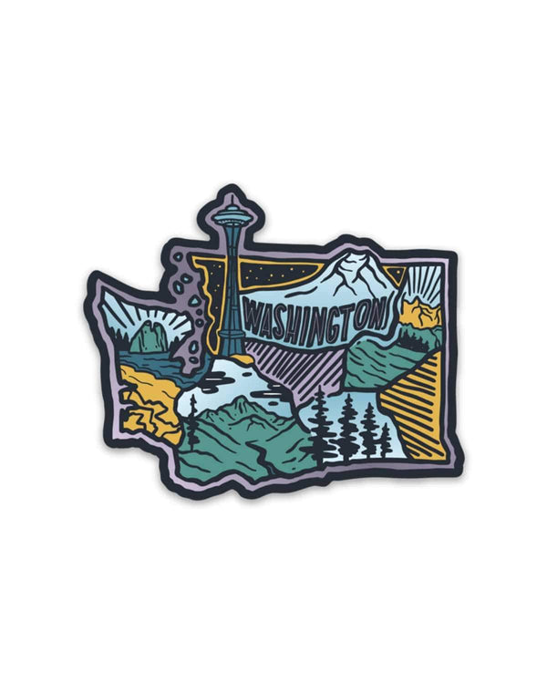Washington Love | Sticker - Keep Nature Wild