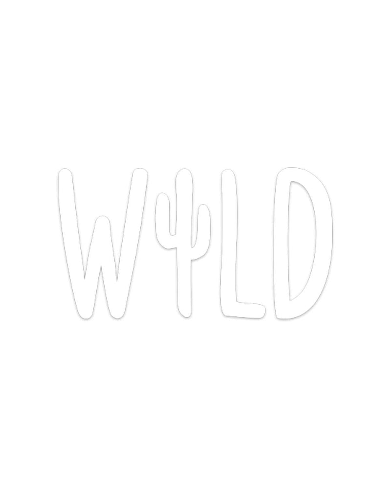 Wild Cactus | Decal - Keep Nature Wild