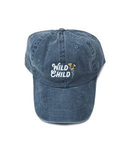 Keep Nature Wild Hat Wild Child Dad Hat | Faded Navy