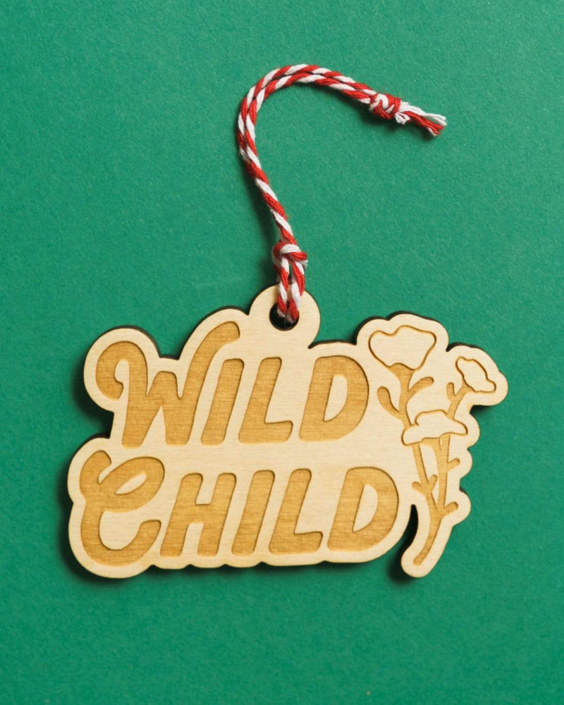 Wild Child Holiday Ornament - Keep Nature Wild