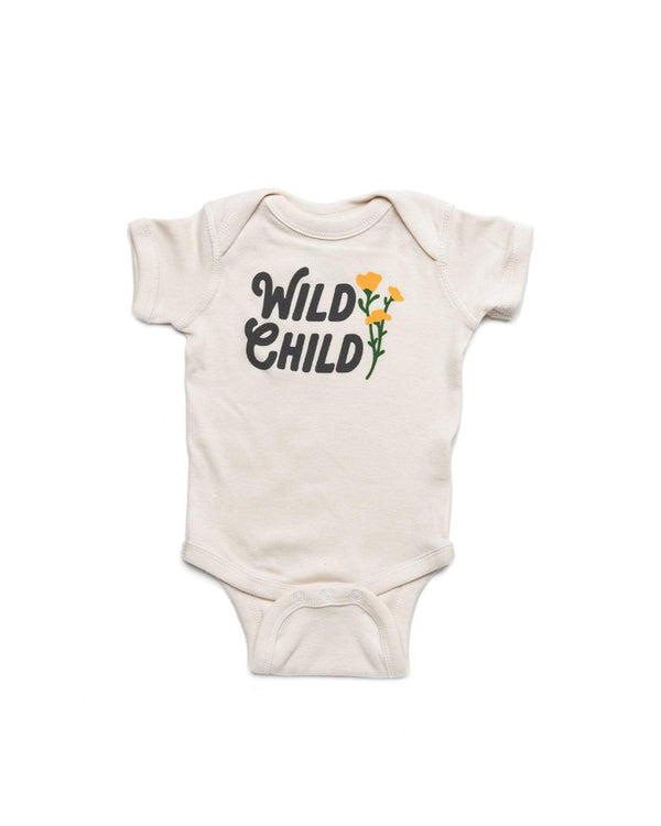 Wild Child Onesie | Natural - Keep Nature Wild