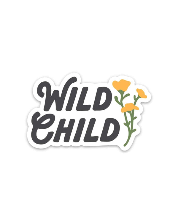 Wild Child | Sticker - Keep Nature Wild