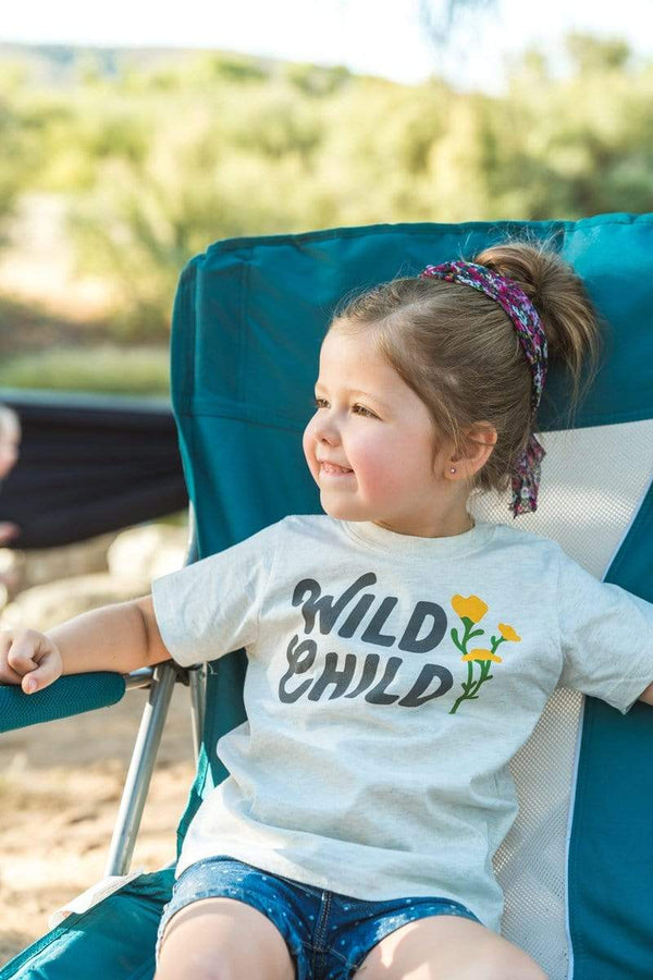 Wild Child Toddler Tee | Natural Heather - Keep Nature Wild