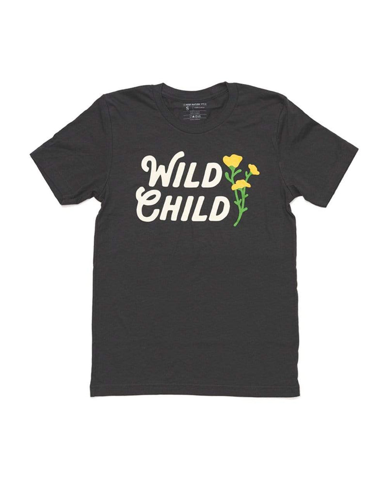 Wild Child Unisex Tee | Dark Gray - Keep Nature Wild