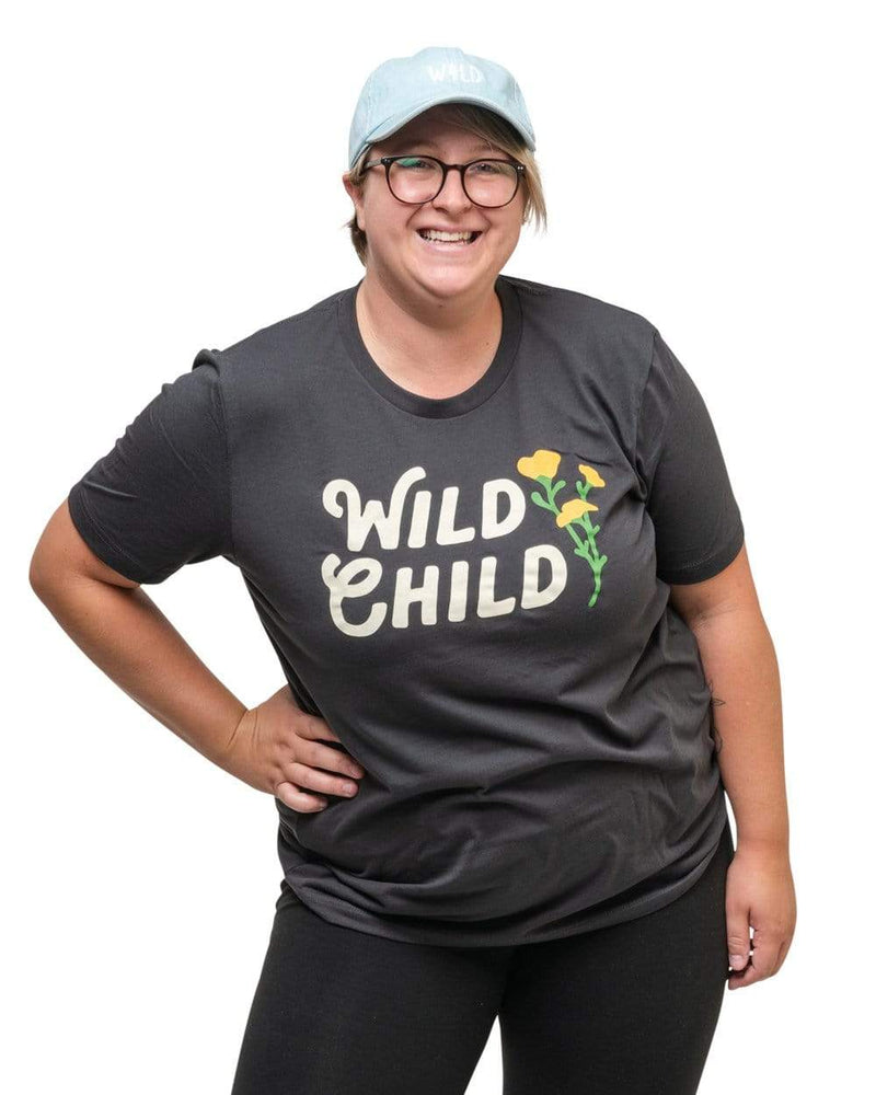Keep Nature Wild Tee Wild Child Unisex Tee | Dark Gray